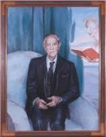 Retrato de José García Nieto, por Cristian Domeq