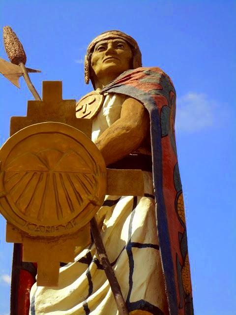 Monumento al cacique Chuquimanco
