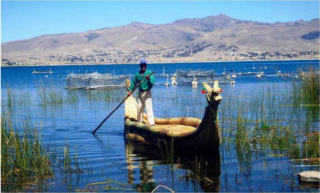 El Titicaca desde Bolivia
