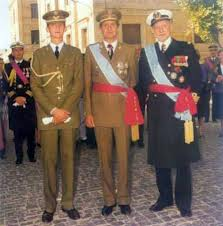 Abuelo, Padre e Hijo de la Casa Real española