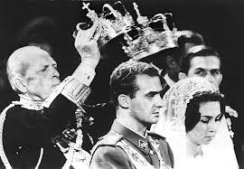 Don Juan Carlos y Doña Sofía el día de su boda en 1962