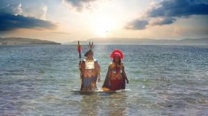 Las aguas del Titicaca, son los orígenes de los Incas