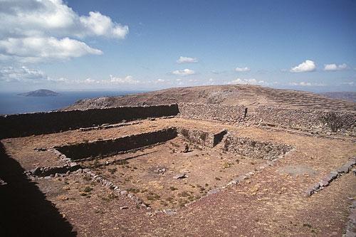 Templo Pachata en la isla Amanti