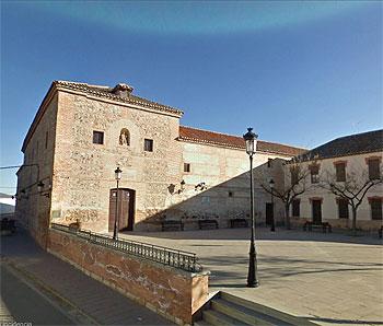 Convento Carmelita fundado por Teresa de Ávila en Malagón, Ciudad Real,  en 1562