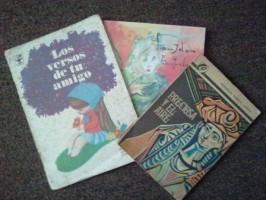 Sus tres antologias con la poesia de Garcia Lorca