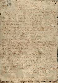 Carta de Santa Teresa de Jesús a Don Álvaro de Mendoza, fechada en Medina del Campo 6 de Julio de 1568