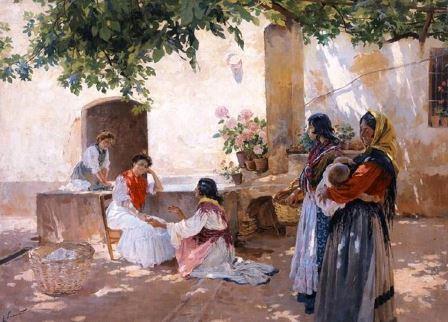 Enrique_Simonet_-_La_buenaventura_-_1899