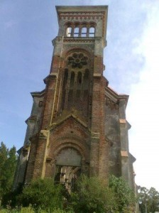 Antigua iglesia de Piriápolis