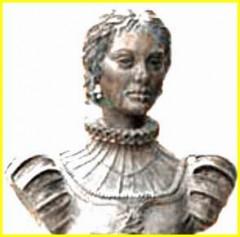 Busto de Catalina de Salazar