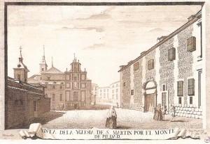 iglesia de San Martin-dibujo de Juan de Villanueva