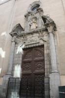 Portada iglesia de san Luis adosada a la iglesia del Carmen