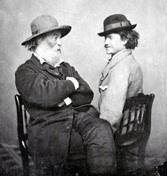 Walt Whitman  yPeter Doyle  en 1869