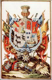 Escudo de armas de Bernardo de Gálvez