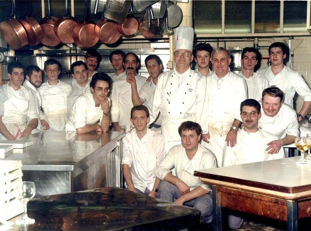 Equipo de cocina del Moulin Rouge