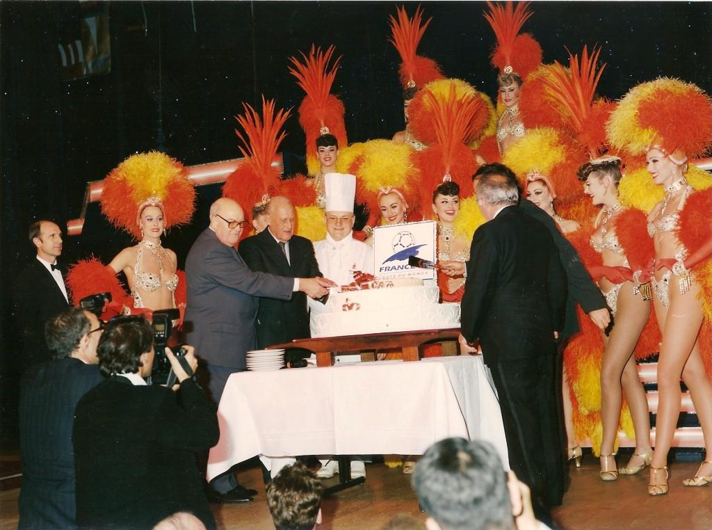 Presentación del equipo del Moulin Rouge de Fórmula 1
