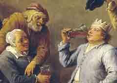 el-rey-bebe (1650-1660)-oleo-David Tenierss