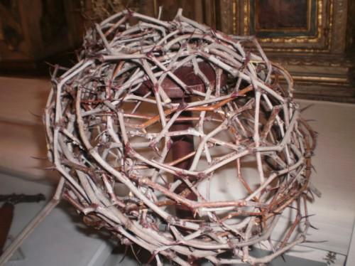 Casco de espinas. Uno como este, tuvo que llevar sobre la cabeza Jesús de Nazaret
