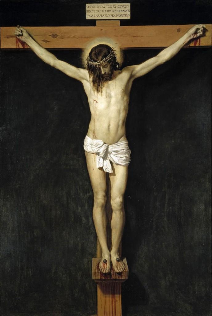 Cristo Crucificado. Oleo de Diego de Velázquez-Museo del Prado. Madrid