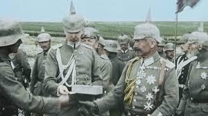 Oficiales alemanes en el frente