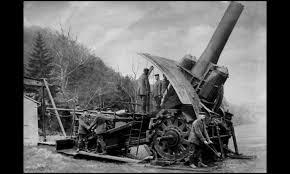 Artillería de 420 mm.