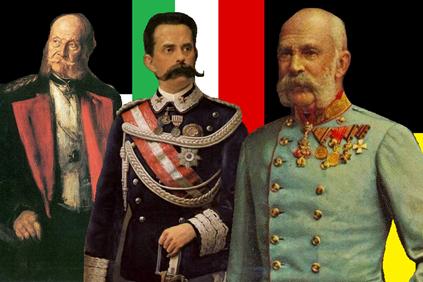 Mandatarios de la Triple Alianza